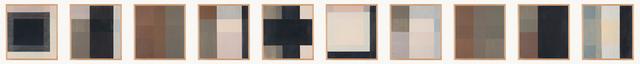 , 'Haus Wittgenstein, Kundmanngasse 19, 1-10,' 2015, Charles Nodrum Gallery