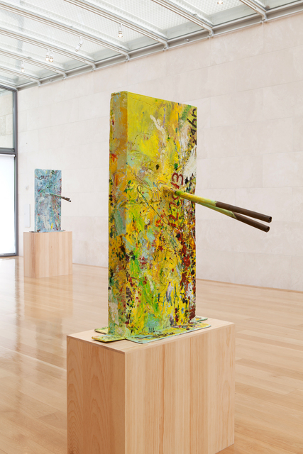 , 'Untitled (Thrown and Expressed Yellow Sea Rose, Italian Mask M30.c),' 2013, Nasher Sculpture Center