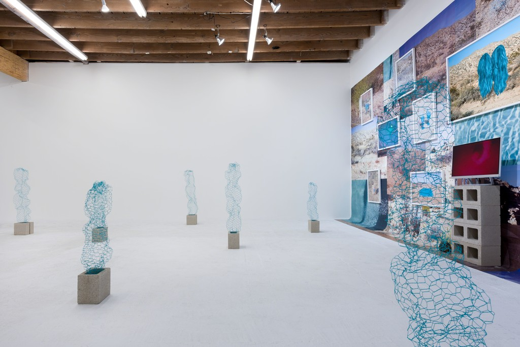 Talia Shipman 'Meet Me in the Middle', installation shot. Photo: Ruben Diaz