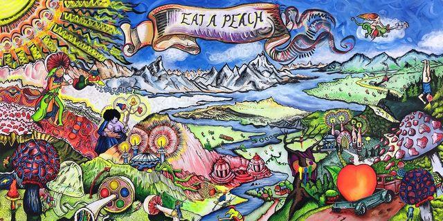 Vernon O'Meally, 'Eat a Peach', 2017, ABXY