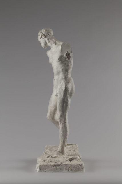 , 'Pierre de Wissant, nu pour la deuxième maquette (Pierre de Wissant, nude for second model),' 1885, Musée Rodin