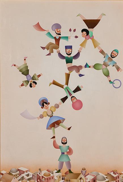 , 'Acrobats,' , Pucker Gallery