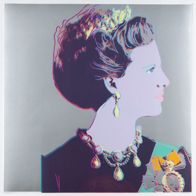 Andy Warhol, 'Queen Margrethe II of Denmark, from Reigning Queens', 1985, Leslie Sacks Gallery