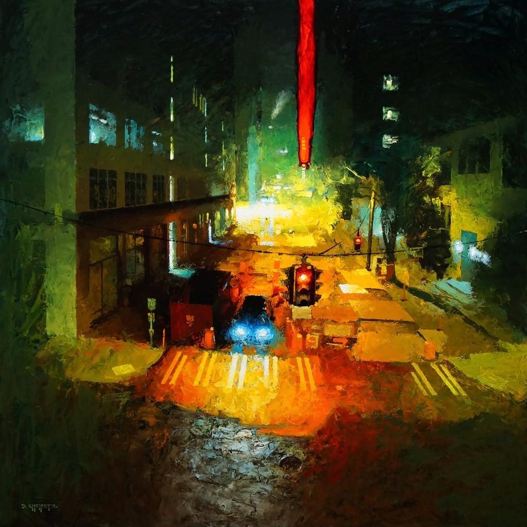 D Painting Exhibition : Three person exhibition david cheifetz shevlino
