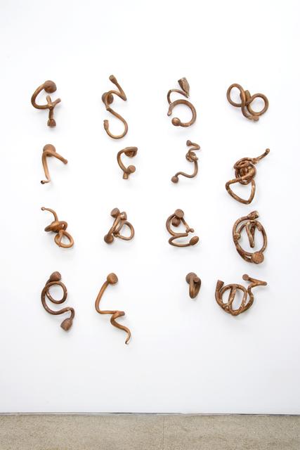 , 'Indeterminate Lines/Sienna Series,' , Cross Mackenzie Gallery