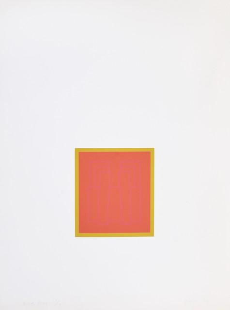 Robyn Denny, 'Portraits (Series B), III', 1973, Shapero Modern