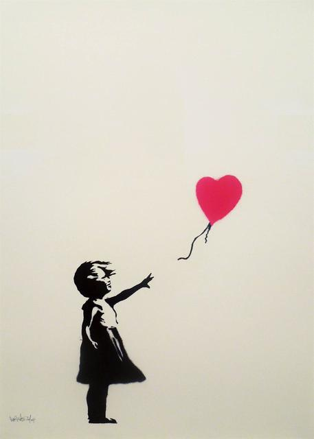 Banksy, 'Girl with balloon', 2004, Gallery 211