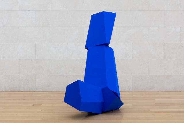 , ' Really Blue (after all),' 2016, Nasher Sculpture Center