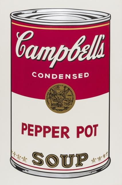 Andy Warhol, 'Campbell's Soup I. Pepper Pot Soup (Feldman & Schellmann II.51)', 1968, Print, Screen-print in colours, Forum Auctions