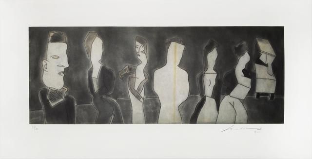 , 'Autorretrato con las Berthas,' 2000, Galería Nudo