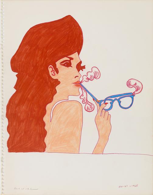 , 'Smoke Gets in Your Eyeglasses,' 1965, Derek Eller Gallery