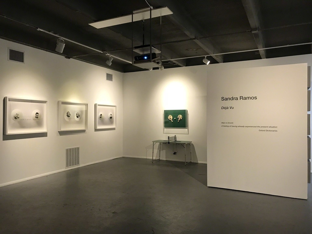 installation view of Power-Ball series