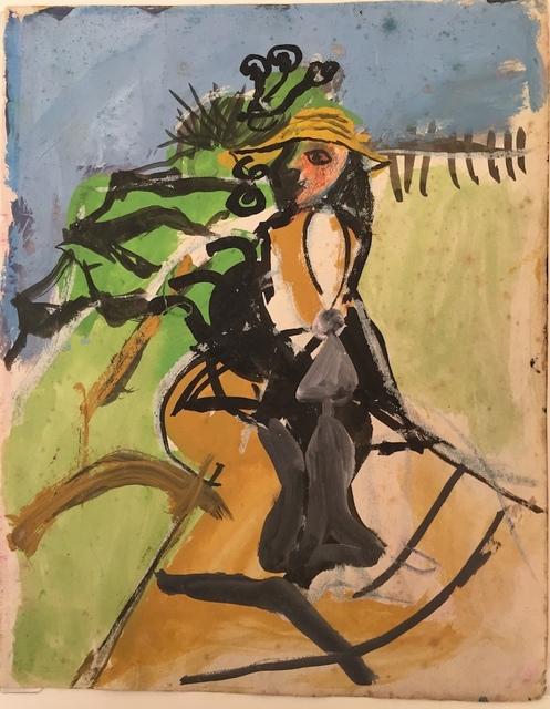 , 'Sketch for Woman in a Garden,' 1947, Crane Kalman Gallery