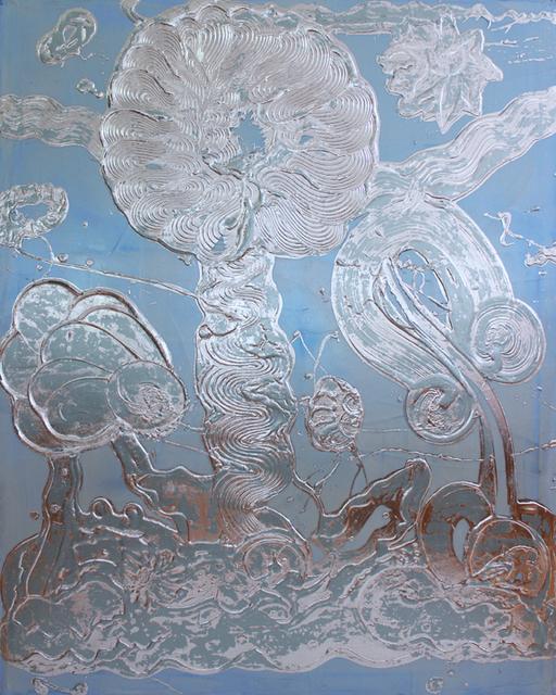 Catherine Howe, 'Blue Opal Painting (Rosie)', 2019, Winston Wächter Fine Art