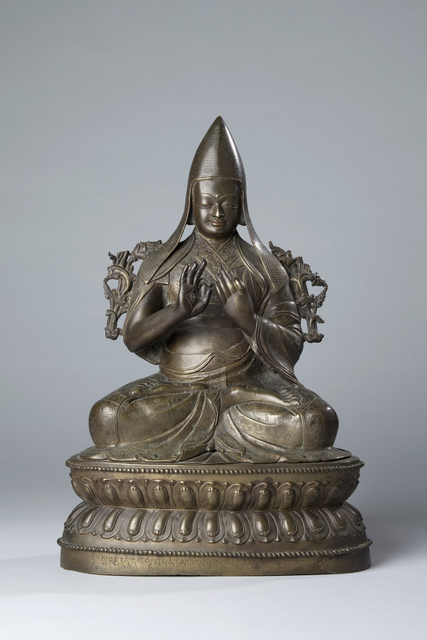 , 'Gelukpa Teacher Champa Tashi,' 16th century, Rubin Museum of Art