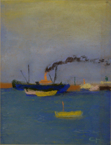, 'Ships on the Mississippi,' 1910, Edward Thorp Gallery
