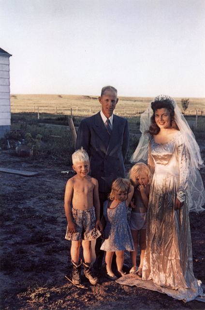 , 'Americans in Kodachrome 1945-65, Seventh Wedding Anniversary, Hermosa, South Dakota. Photographer: Irvin Evans,' 1952, ROSEGALLERY
