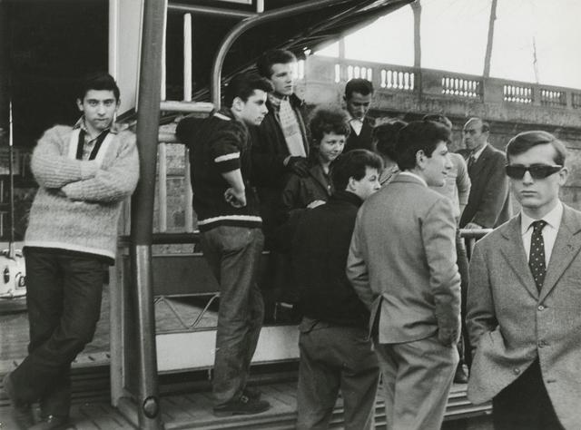 , 'Giovani d'oggi, Milano (Youth of Today, Milan),' 1961, Howard Greenberg Gallery