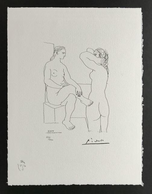 Pablo Picasso, 'Deux Femmes (Suite Vollard Planche LXXX)', 1973, ByNewArt