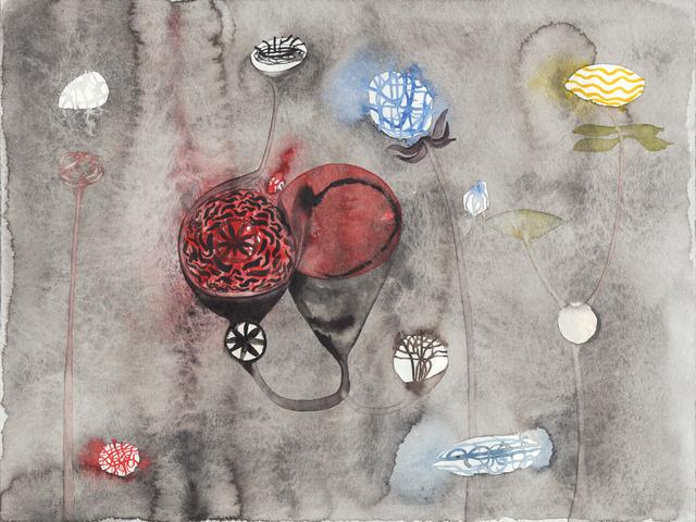 , 'Botanik (4),' 2012, DAS ESSZIMMER