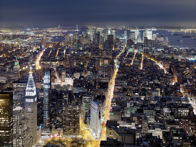 , 'View from the Empire State Building, Looking South,' 2011, Laurence Miller Gallery