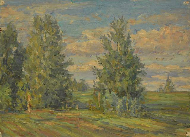 Anton Stanislavovich Yastrzhembsky, 'Morning', 1932, Surikov Foundation