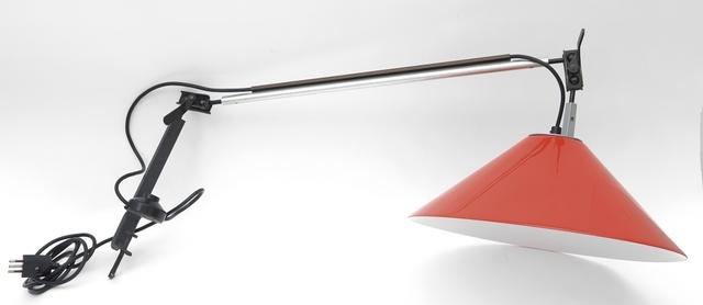 Enzo Mari, 'A table lamp with clamp 'Aggregato' for ARTEMIDE', 1974, Aste Boetto
