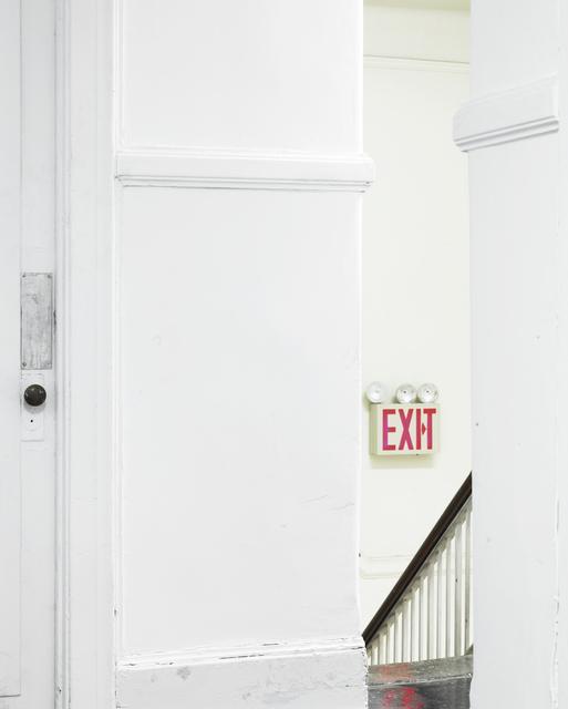 , 'Doing & Undergoing X,' 2013, Galerie Jordanow