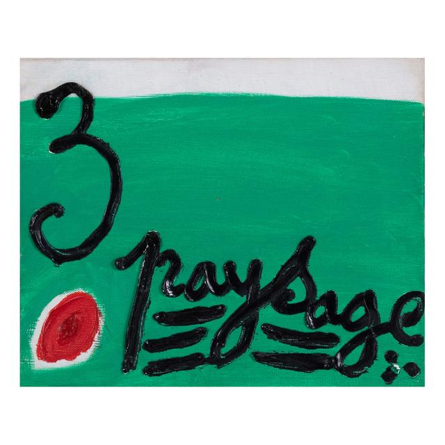 Michel Macreau, '3 paysage', 1967, PIASA
