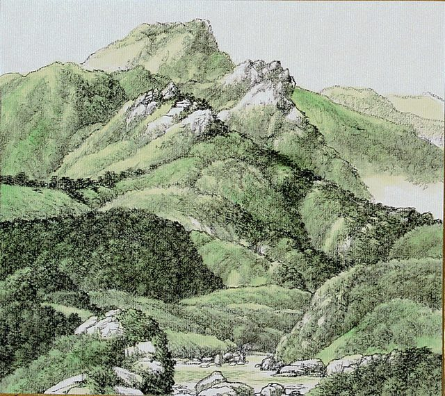 , 'Green Mountains,' 1999, M. Sutherland Fine Arts