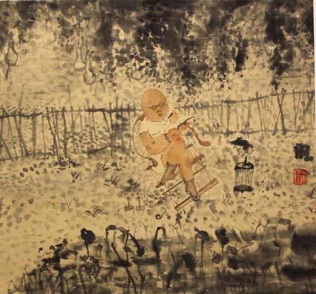 , 'Happy Man 18-10,' 2018, Tao Water Art Gallery