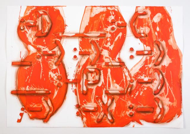 , ':-D,' 2017, Galerie Krinzinger