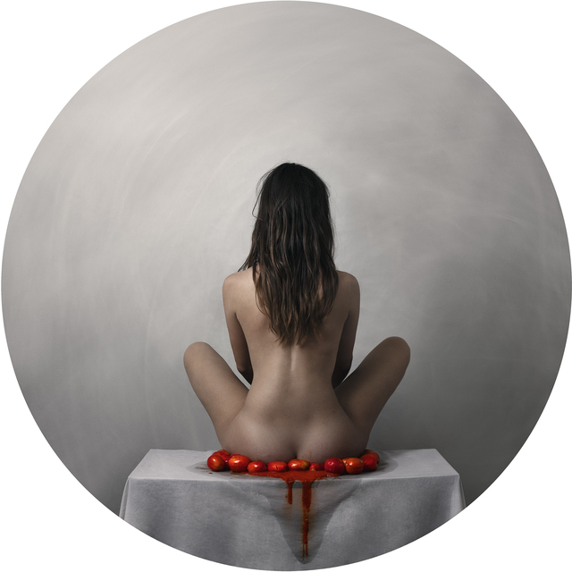 , 'Haikus of the Hungry II (Woman with Tomatoes),' 2018, Thomas Nickles Project