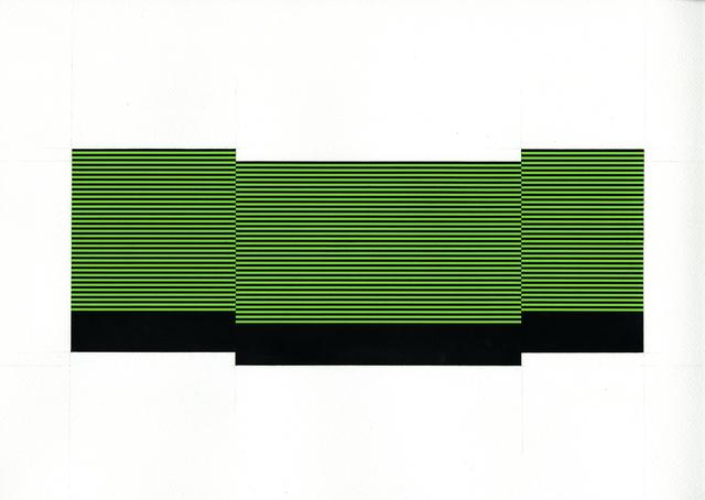 , 'Field/Terrace (Lt. Green 17),' 2017, Joseph Nease Gallery