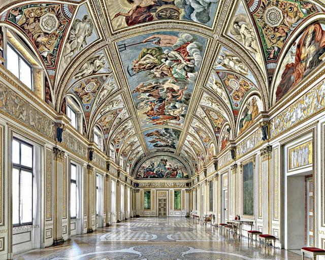Massimo Listri, 'Palazzo Ducale, Galleria degli Specchi, Hall of Mirrors, Mantova, Italy', 1996, CHROMA GALLERY