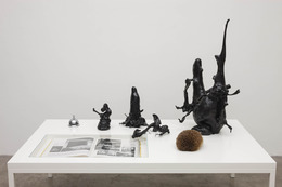 , 'gentle joy, laughter at the trials of the innocents,' 2013, Kerlin Gallery