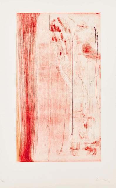 Helen Frankenthaler, 'Pompeii Forte', 1976-1982, Kunzt Gallery