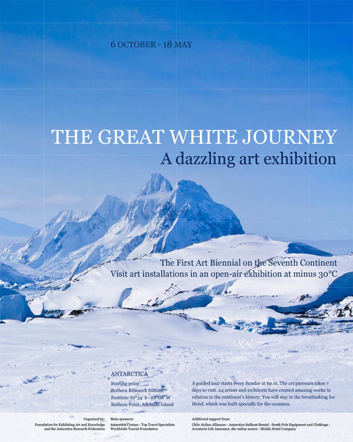 , 'The Great White Journey,' 2012, Galerie Jérôme Poggi