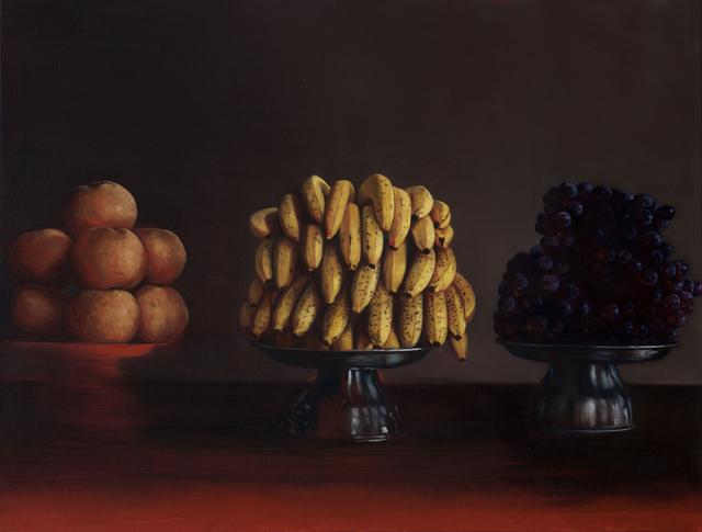 , 'Pears, Bananas and Grapes,' 2017, CHOI&LAGER