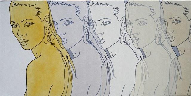 , 'Kate 5x,' 2015, Artspace Warehouse