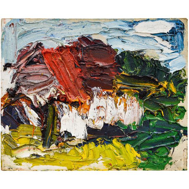 "Franz Grabmayr, 'Franz Grabmayr ""Haus"" Oil on canvas 1987', 1987, Painting, Oil on canvas, Kunsthandel Kolhammer"