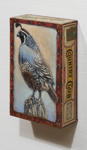 , 'California Quail / Country Club,' 2018, Paul Thiebaud Gallery
