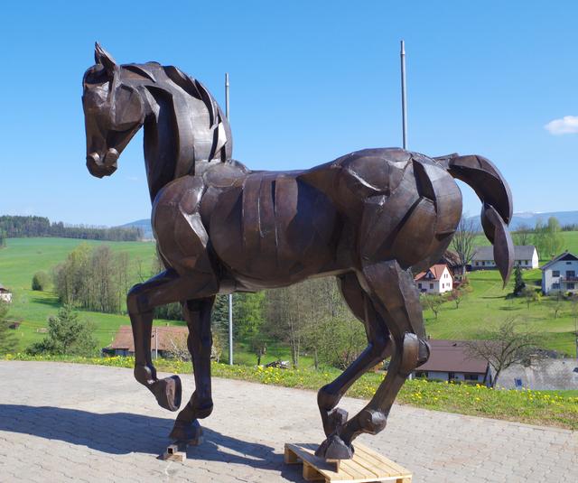 Sophie Dickens, 'Prancing Stallion', 2016, Sculpture, Bronze, Sladmore