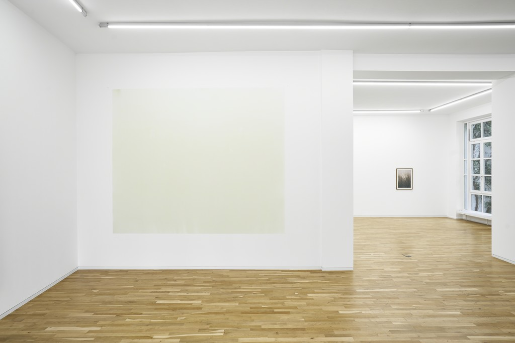Exhibition view Jahn und Jahn, Munich, Navid Nuur, Courtesy of the artist and Galerie Max Hetzler, Berlin | Paris | London;  Lucian Indrei, Courtesy of the artist and Lateral ArtSpace, Cluj