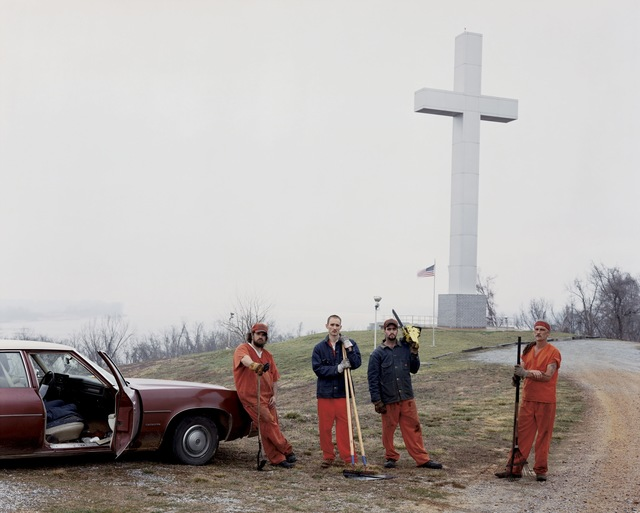 , 'Fort Jefferson Memorial Cross,' 2002, Huxley-Parlour