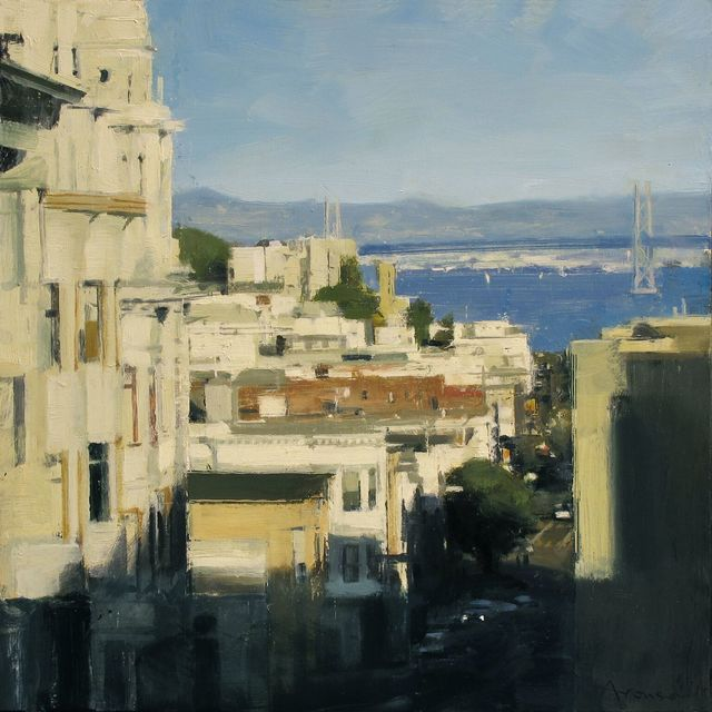 , 'Down Broadway to the Bay Bridge,' 2018, Jenkins Johnson Gallery