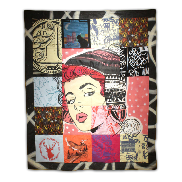 , 'Quilt,' 2018, Station 16 Gallery