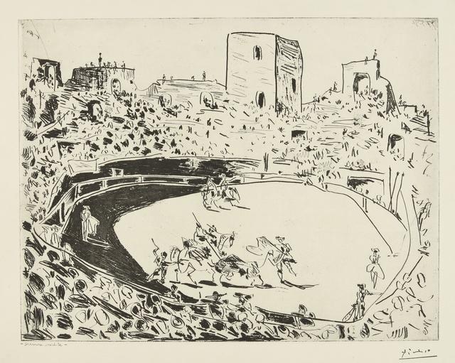 Pablo Picasso, 'Corrida en Arles (B. 1355; Ba. 887)', 1951, Sotheby's