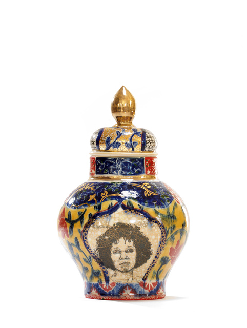 , 'Whitney Houston / Shirley Chisholm Urn,' 2017, Wexler Gallery