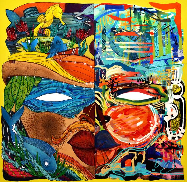 , 'Free man 4,' 2018, Galerie Artefact